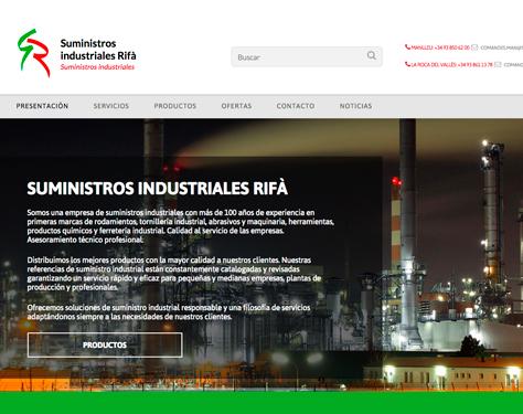 web suministros rifa